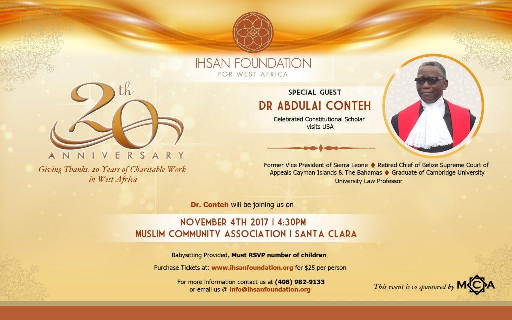 Ihsan Foundation 20th Anniversary Event